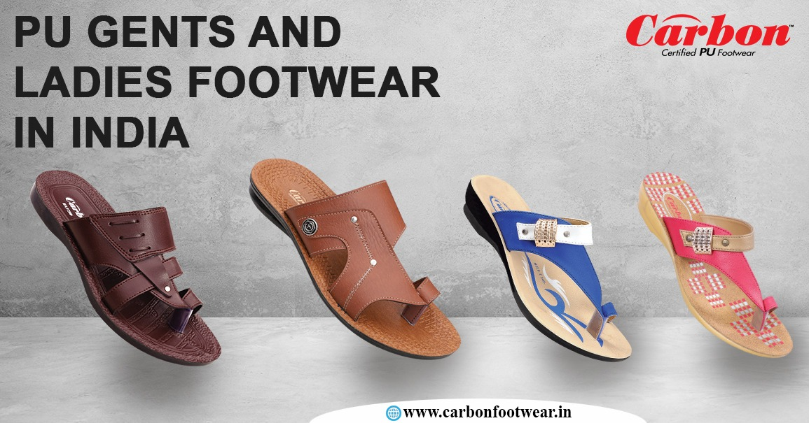 PU Gents and Ladies Footwear in India
