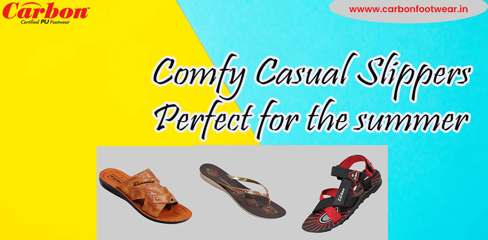 Comfy Casual Slippers Perfect for the Summer