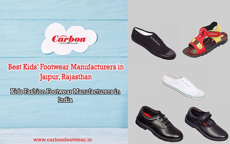 Best Kids' Footwear Manufacturers in Jaipur, Rajasthan